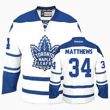 2XL Auston Matthews #34 Toronto Maple Leafs NHL Hockey Replica Jersey White