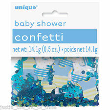 Baby Shower Boy Party Decorations Foil Table Confetti