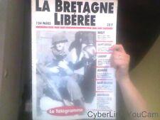 La Bretagne liberée 1944-1994 Le Telegramme Relié – 1994 de Le Telegramme