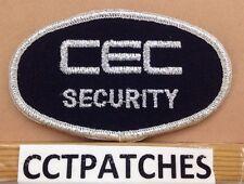 CEC SECURITY SHOULDER PATCH