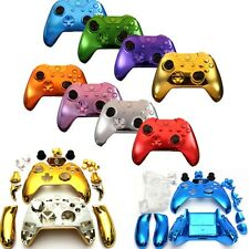 8 Colors Wireless Controller Replacement Custom Chrome Shell Case for Xbox One
