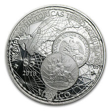 2010 Mexican Proof Silver 5 Peso Coin - Iberoamerican History - SKU #84431