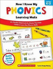 Now I Know My Phonics Learning Mats: 50+ Double-Sided Activity Sheets That Help