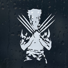 Wolverine Logan X-man Car Decal Vinyl Sticker For Window Or Bumper Or Panel