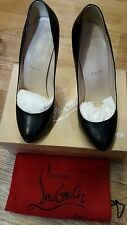 christian louboutin black shoe 41.5 (7- 7.5)