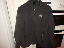 MEN'S BLACK  NORTH FACE WINDWALL ZIPPED FLEECE JACKET...SIZE LARGE