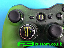 Custom Xbox 360 * monster * logotipo guía Botón Y Cruceta * f3custom *