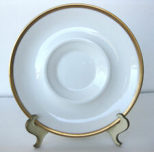 VTG 24K BONE CHINA SAUCER BY MIKASA #A7007 MADE BY NARUMI, JAPAN