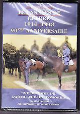 15253// DVD 90EME ANNIVERSAIRE 1914 1918 ARTILLERIE HIPPOMOBILE POSTIER BRETON