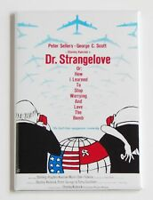Dr. Strangelove FRIDGE MAGNET (2 x 3 inches) movie poster peter sellers