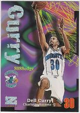 1997-98 Z-FORCE RAVE PARALLEL #65: DELL CURRY #228/399 HORNETS SON STEPHEN ESPN