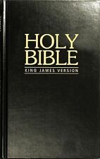 KJV Pew Bible - Black Hardback by Biblica,