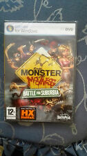 MONSTER MADNESS BATTLE FOR SUBURBIA EDIZIONE  ITALIANA PC NUOVO  SIGILLATO