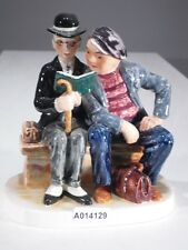 +*A014129 Goebel  Archivmuster N.Rockwell Figurines Rock207 Two Men Reading TMK3