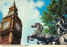 BR89970 big ben and the boadicea statue london  uk