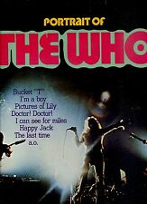 THE WHO portrait of HOLLAND EX  LP