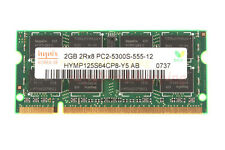 Tested Hynix 2GB 2Rx8 PC2-5300S DDR2 667Mhz 200pin CL5 SO-DIMM RAM Laptop Memory