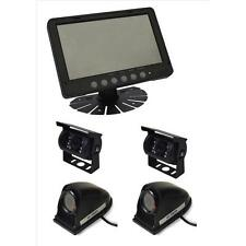 "Parksafe PS025C10164 Car Van 7"" Quad Input Parking Monitor Reversing 4 Cameras"