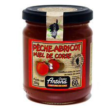 Peach and Apricot Jam with Honey from Corsica 250g