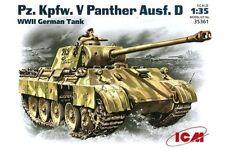 ICM 35361 1/35 Pz.Kpfw. V Panther, Ausf. D WWI German Tank