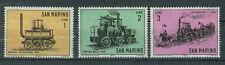 San Marino Briefmarken 1964 Lokomotiven Mi.Nr.814-16 postfrisch