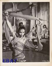 Busty sexy Babe w/sword VINTAGE Photo Goliath And The Barbarians