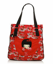 DISASTER DESIGNS KIMONO DOLL DISCONTINUED DESIGN BAG RED