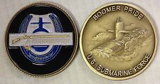 NAVY USS KENTUCKY SSBN-737 SUBMARINE FORCE BOOMER PRIDE CHALLENGE COIN