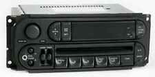 Dodge Ram 1500 2005 Radio AM FM CD Player w Aux Input P05091506AE Slider Ver RBK