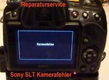 """Sony slt A 65/68/77/99 service de réparation """"caméra erreur"""", défectueux verschlußmotor"""