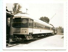 F999J RP 1950s?60s?  PE PACIFIC ELECTRIC RAILROAD MOTOR TRAIN TROLLEY #1543