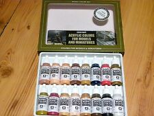 AV Vallejo Face & Skintones Acrylic Colours Paint Set For Models