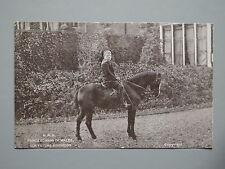 R&L Postcard: H.R.H. Prince Edward of Wales Horse Riding, Pony, GD & DL