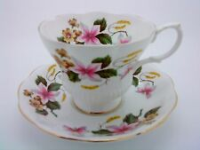 Pretty Royal Albert China Standard Tea Cup & Saucer Magnolia Willow & Primrose