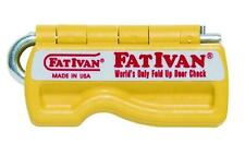 Original FatIvan Fold Up Door Chock & Magnet Fat Ivan Door Stop Wedge (YELLOW)
