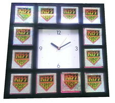 KISS Army Music Group Limited Edition Hologram Promo Clock With Images