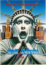Kevin - Allein in New York MACAULAY CULKIN Filmplakat DIN A1 (gerollt) teaser