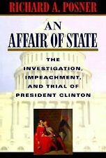 Richard A Posner - Affair Of State (1999) - Used - Trade Cloth (Hardcover)