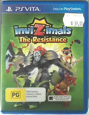PS-Vita Invizimals: The Resistance New in Box Free Shipping