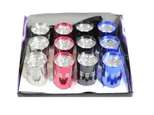 12 Assorted Colors LED Torch Flashlights 9 Super Bright LED's!!