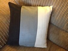 5 22 Inch Cream, Grey & Black Faux Suede Cushion covers Why Buy From NEXT?