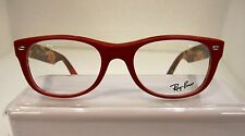 NEW RAYBAN RB 5184 COL 5406 MATTE RED PLASTIC EYEGLASSES FRAME50-18-145MM