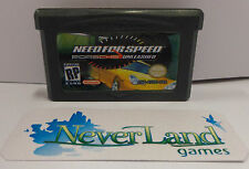 Console Gioco Game Boy GameBoy Advance Play USA NEED FOR SPEED PORSCHE UNLEASHED