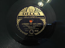 "BING CROSBY & The ANDREWS SISTERS ""A Hundred and Sixty Acres"" 78rpm 10"" 1949 EXC"