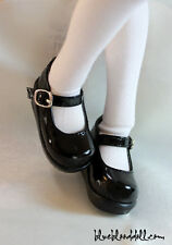 1/4 bjd girl doll black color uniform shoes msd mdd dollfie dream #S-83M ship US