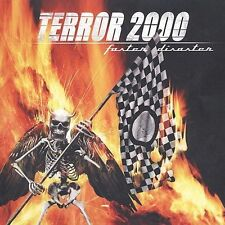 TERROR 2000 Faster Disaster (CD 2002) 10 Songs Heavy Metal Album Made in USA