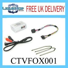 CTVFOX001 FORD GALAXY 2000-2006 AUX ADAPTER LEAD 3.5 JACK IN CAR RADIO IPOD MP3