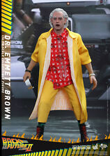 DOC EMMETT BROWN (Back To The Future Part II) chris lloyd 1/6 HOT TOYS UK SHIP