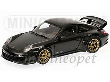 MINICHAMPS 100-069402 2011 PORSCHE 911 997 GT2 RS 1/18 BLACK with BRONZE WHEELS