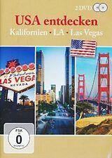USA ENTDECKEN - KALIFORNIEN,L.A.,LAS VEGAS 2 DVD NEU